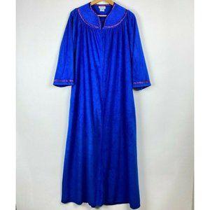 Vintage Robe House Dress Housecoat Lounge Duster